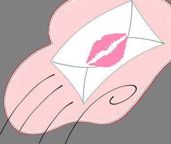 romantické sms z lásky, stesk, sms na dobrou noc stýskací, Zamilované básničky stýskací, dopis s polibkem