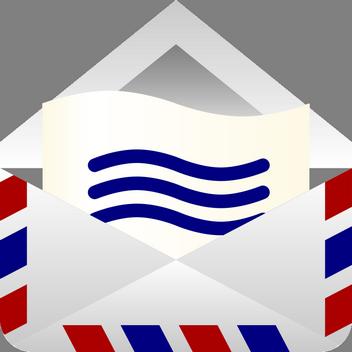 Obrázková a textová přáníčka pro děti i dospělé, Blahopřání k narozeninám, Narozeninová přání, letecká pošta