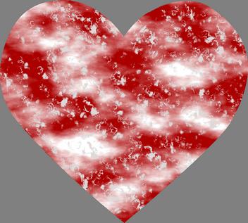 obrázkové a textová přáníčka, Gratulace k svátku pro milovanou ženu, Blahopřání k jmeninám pro ni, mramorové srdce