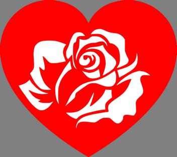 romantické sms z lásky, stesk, odloučení, smsky, vzkazy, zprávy, stýská se mi, Zamilované básničky stýskací, růže v srdci