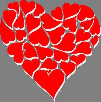 narozeninové přání láska, gratulace k narozeninám z lásky text, přání k narozeninám z lásky, valentýnská srdíčka